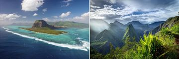 The Beautiful landscapes of Mauritius & Reunion islands