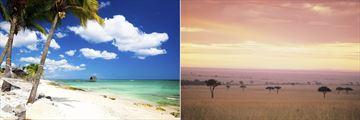 Mauritius Beach & Masai Mara National Park