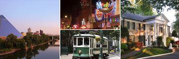 Memphis Downtown, Beale Street & Graceland