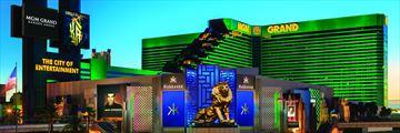 MGM Grand Hotel & Casino, Exterior