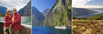Milford Sound Cruise & Te Anau Lake