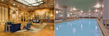 Millennium Biltmore, Lobby and Pool