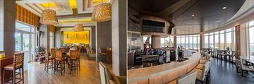 The Deck Bar and Compass Bar at Millennium Resort Mussanah