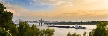 Mississippi River, near Vicksburg Bridge