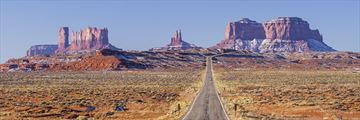 Driving to Monument Valley