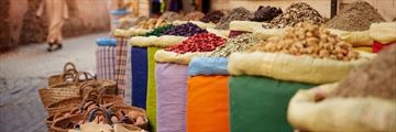 Spices in Marrakesh's souks