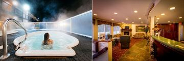 Mount Robson Inn, Hot Tub and Lobby