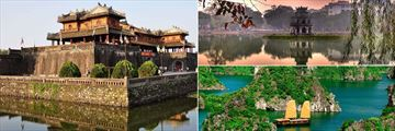 Movenpick Hanoi, Hue Citadel, Turtle Temple on Hoan Kiem Lake and Halong Bay