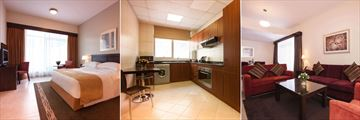 Movenpick Hotel & Apartments Bur Dubai, One Bedroom Apartment