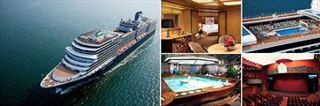 Holland America's Nieuw Amsterdam Cruise Ship