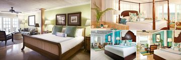 King Room, Deluxe Oceanfront Room, Oceanfront Boutique Room and Island View Junior Suite at Ocean Key Resort & Spa