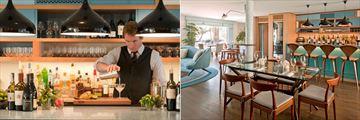 Oceana Santa Monica, Tower 8 Restaurant Bartender and Restaurant