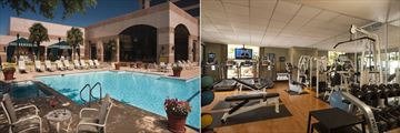 Omni San Antonio Hotel at the Colonnade, Pool Cabana Bar and Pool and Fitness Room