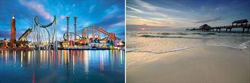 Universal Orlando & Clearwater Beach, Florida