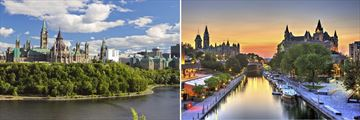 Ottawa Canal & Architectural Sights