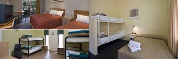 Outback Pioneer Hotel, Accommodations
