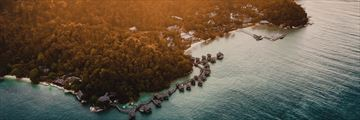 Aerial view of Pangkor Laut Resort
