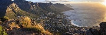 Panorama of South Africa's Cape Town