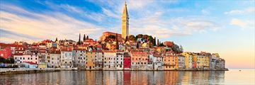 Panoramic of Rovinj