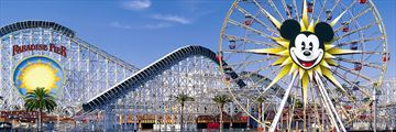 Paradise Pier at Disney California Adventure Park