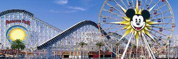 Paradise Pier at Disney California Adventure Park