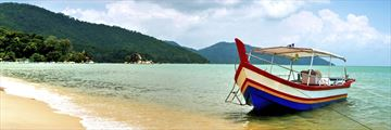Relaxing Penang Beach