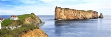 Perce Rock in Quebec