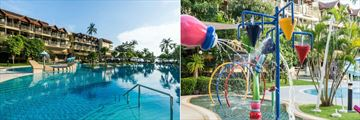 Phuket Marriott Resort & Spa, Merlin Beach, Family Outdoor Pool and Kids' Pool Splash Pad