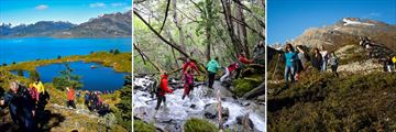 Numerous Guided Hikes & Treks Throughout the Tour