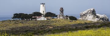Piedras Blancas lighthouse near San Simeon