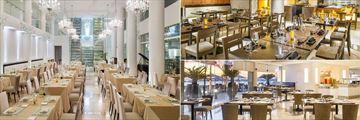 Playacar Palace, Dining Venues
