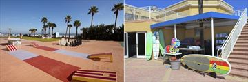 Plaza Resort & Spa, Outdoor Games including Giant Chess and Surf Gear & Shop