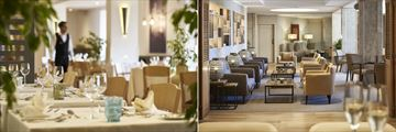 Atlantida Restaurant and lobby bar at Porto Mare