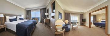Seaview Room and Junior Suite at Porto Santa Maria