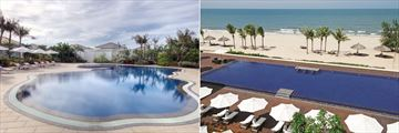 Princess D'Annam Resort & Spa, Ginger Garden Pool and Beachfront Pool and Beach