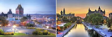 Scenery in Quebec City & Ottawa