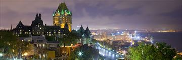 Quebec City at night