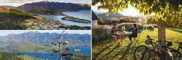 Queenstown Aerial View, Gondola Trip & Romantic Meal, South Island