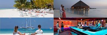 Romantic restaurants and bars at Meeru Island Resort & Spa