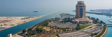 The Ritz-Carlton, Doha, Aerial View