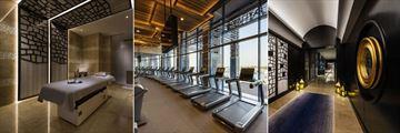 The Ritz-Carlton, Doha, Spa and Gym Facilities