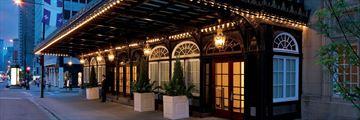 Exterior of Ritz-Carlton Montreal