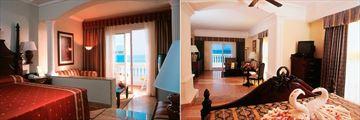 Riu Palace Las Americas, Junior Suite and Suite with Sea View