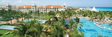 Riu Palace Riviera Maya, Aerial View of Resort