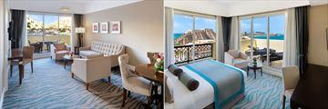 Junior Suite and King Suite at Rixos Bab Al Bahr