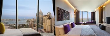 Deluxe Room and Premium Room at Rixos Premium Dubai JBR