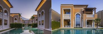 Rixos Saadiyat Island, Executive Villa and Superior Villa Exteriors