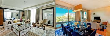 King Suite and Family Suite at Rixos The Palm Dubai Hotel & Suites