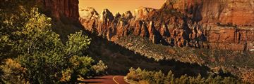A road to Zion National Park