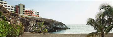 The beach at Roca Nivaria Gran Hotel